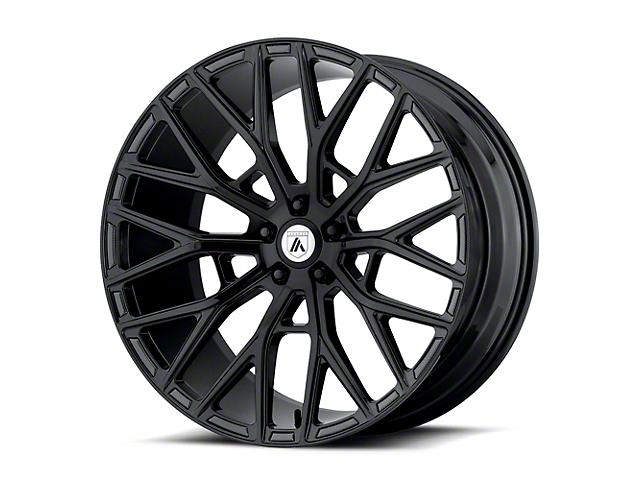 Asanti Leo Gloss Black Wheel; Rear Only; 20x10.5 (08-21 All, Excluding AWD & Demon)