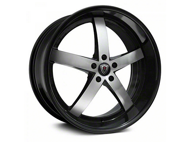 Marquee Wheels M5330 Gloss Black Machined Wheel; 20x9 (08-21 All, Excluding AWD)