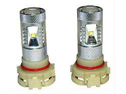 LED Fog Light Bulbs; PSX24W (20-22 Jeep Gladiator JT)