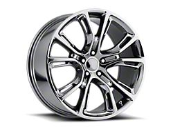 PR137 Black Chrome Wheel; 20x9 (08-21 All, Excluding AWD)