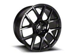 PR163 Satin Black Wheel; 20x9 (08-21 All, Excluding AWD)