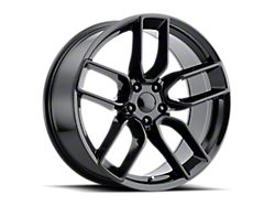 PR179 Gloss Black Wheel; Rear Only; 20x10.5 (08-21 All, Excluding AWD)