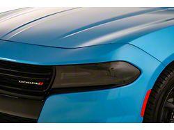 Headlight Covers; Carbon Fiber Look (16-21 All)