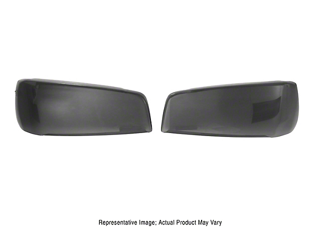 Headlight Covers; Carbon Fiber Look (06-10 All)