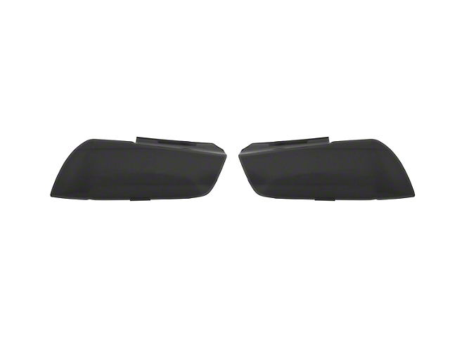 Headlight Covers; Smoked (11-14 All)