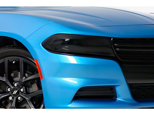 Headlight Covers; Smoked (16-21 All)