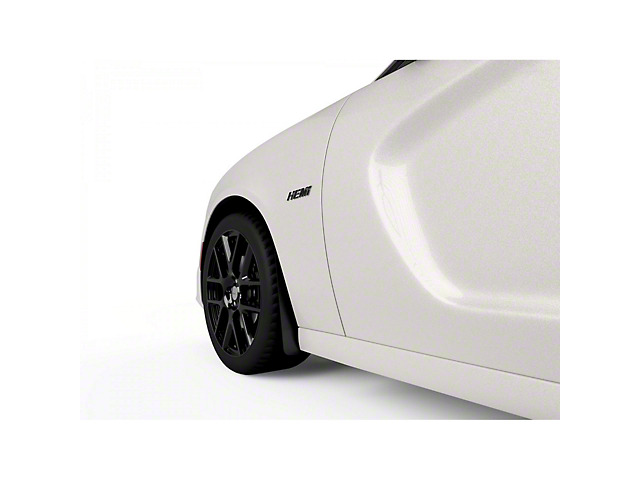 Mud Flaps; Front and Rear; Gloss Carbon Fiber (15-21 All, Excluding Widebody)