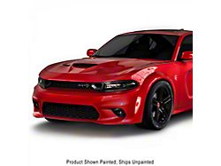 SRT Hellcat Style Front Bumper; Unpainted (15-21 All)