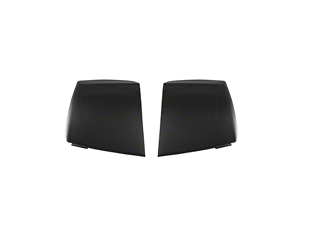 Tail Light Covers; Smoked (06-08 All)