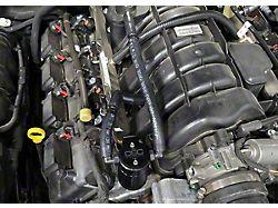 JLT 3.0 Black Oil Separator; Passenger Side (06-21 5.7L HEMI)