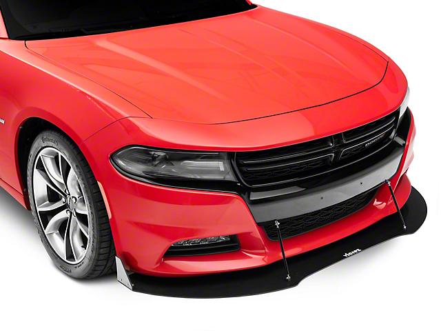 V3R Style Front Chin Splitter; Dry Carbon Fiber (15-21 All)