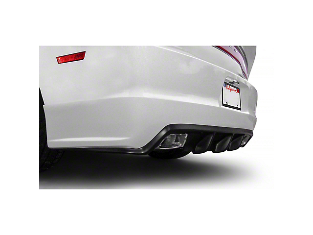 VZ4 Style Rear Diffuser (11-14 All)