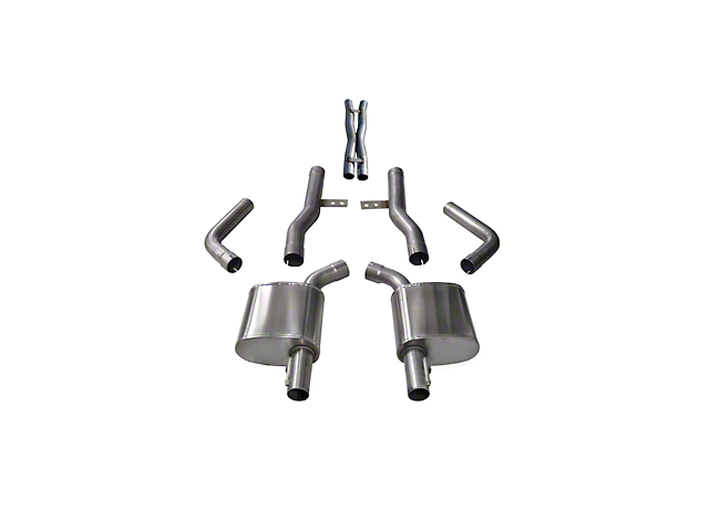 Corsa Xtreme Cat-Back Exhaust (17-21 5.7L HEMI w/ MDS Valves)