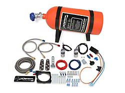 NOS Sniper Plate Wet Nitrous System; Orange Bottle (06-21 5.7L HEMI, 6.1L HEMI)