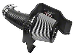 AFE Magnum FORCE Stage 2 Track Series Cold Air Intake with Pro DRY S Filter; Carbon Fiber (12-21 6.4L HEMI)