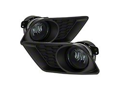OEM Style Fog Lights with Switch; Smoked (11-14 All)