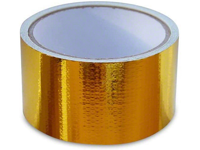 Mishimoto Heat Reflective Tape; Heat Defense Heat Protective Tape; 2 Inch x 35 Foot Roll (Universal Fitment)