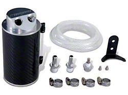Mishimoto Aluminum Oil Catch Can; Small; Silver (Universal; Some Adaptation May Be Required)