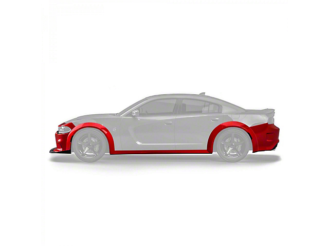 Demon Style Wide Body Kit; Unpainted (15-21 All, Excluding Widebody)