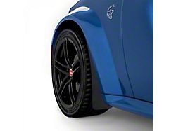 Mud Flaps; Front; Gloss Carbon Fiber (20-21 Widebody)