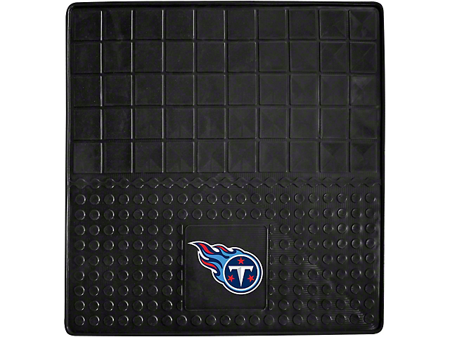 Molded Trunk Mat with Tennessee Titans Logo (Universal Fitment)