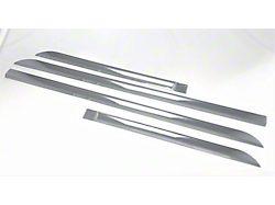 Door Pillar Post Trim Set; Chrome ABS 6 Pieces (08-10 Charger)