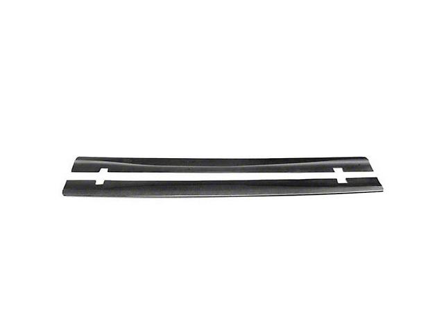 Anderson Composites Type-WB Rocker Panel Splitters; Carbon Fiber (20-21 Widebody)
