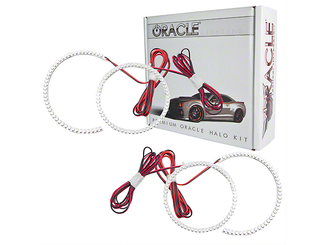 Oracle Halo Kit; LED Tail Light Halo Kit, Red (06-08 All)