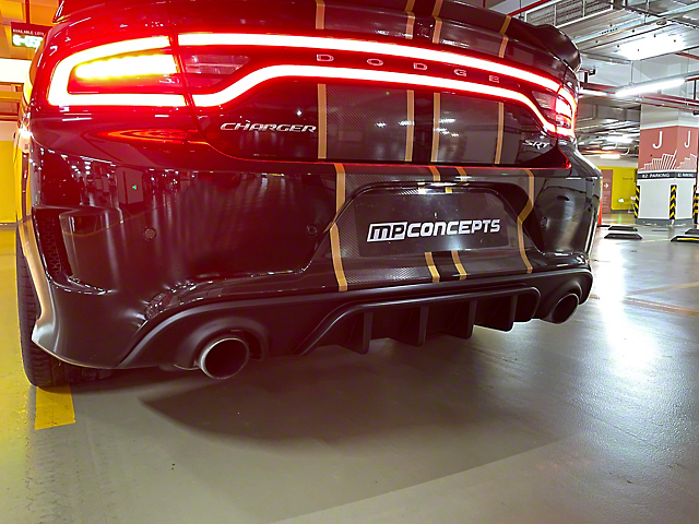 MP Concepts Rear Diffuser (15-21 SRT; 17-18 R/T 392; 19-21 GT & Scat Pack, Excluding Widebody)