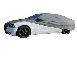 Custom Fit Car Cover; Gray (10-14 All)