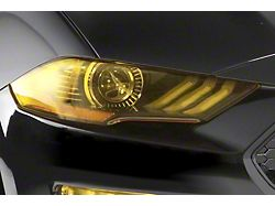 Headlight Covers; Transparent Yellow (11-14 All)