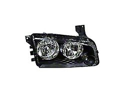 Headlight Combination Assembly; Right; Replacement Part (06-07 Charger)