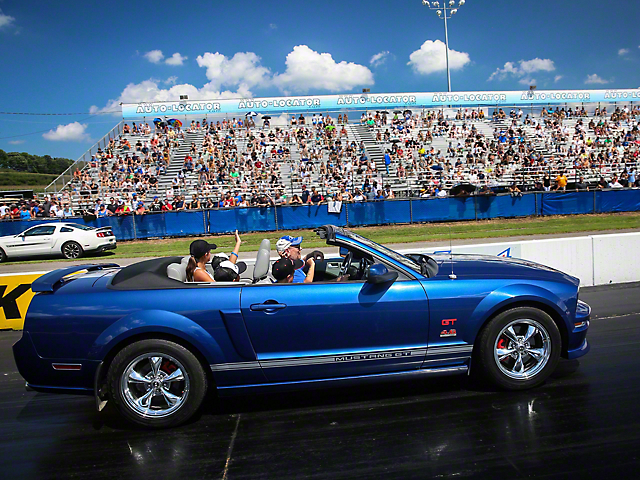 Participate in Opening Ceremony Parade - Convertibles Only (Make-a-Wish Donation)