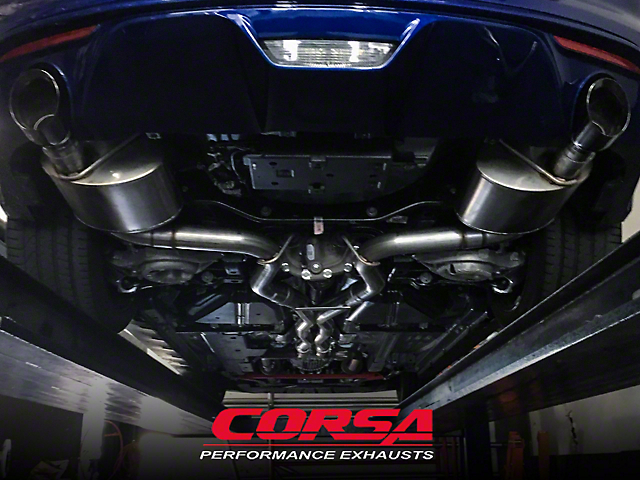 Corsa Exhaust Installation Station (Make-a-Wish Donation)