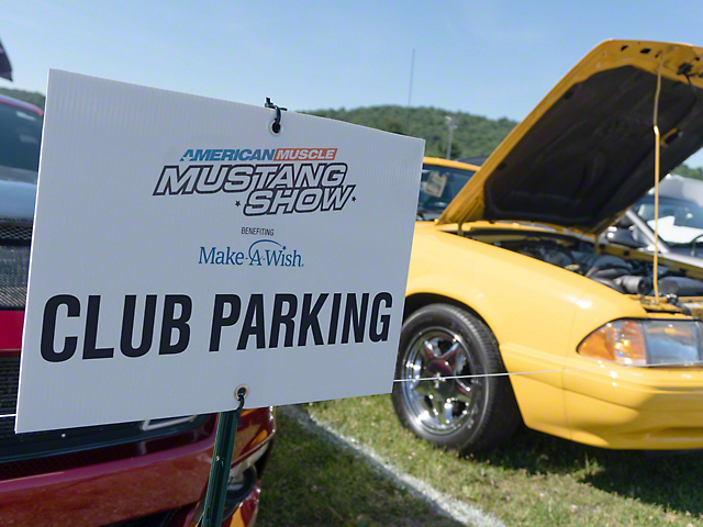 AM2020 Mustang Club Parking (Make-A-Wish Donation)