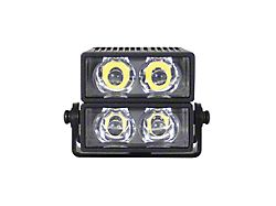 ORV Dual Stack 2x1 Silicone Light Kit with Vehicle Harness (Universal; Some Adaptation May Be Required)