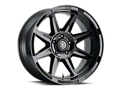 ICON Alloys Bandit Gloss Black 6-Lug Wheel; 20x10; -24mm Offset (14-18 Silverado 1500)