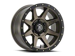 ICON Alloys Rebound Bronze 6-Lug Wheel; 20x9; 0mm Offset (14-18 Sierra 1500)