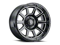 ICON Alloys Recoil Gloss Black Milled 6-Lug Wheel; 20x10; -24mm Offset (14-18 Sierra 1500)