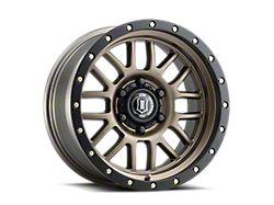 ICON Alloys Alpha Bronze 6-Lug Wheel; 17x8.5; 0mm Offset (19-21 Ranger)