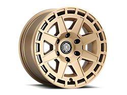 ICON Alloys Compass Satin Brass 6-Lug Wheel; 17x8.5; 0mm Offset (05-15 Tacoma)