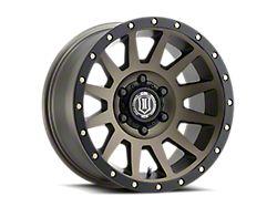 ICON Alloys Compression Bronze 6-Lug Wheel; 17x8.5; 0mm Offset (19-21 Sierra 1500)