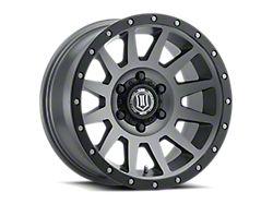 ICON Alloys Compression Titanium 6-Lug Wheel; 18x9; 0mm Offset (19-21 Sierra 1500)