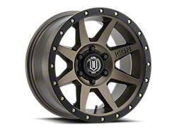ICON Alloys Rebound Bronze 6-Lug Wheel; 18x9; 0mm Offset (14-18 Silverado 1500)