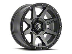ICON Alloys Rebound Titanium 6-Lug Wheel; 17x8.5; 0mm Offset (16-21 Tacoma)