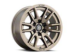 ICON Alloys Vector 6 Bronze 6-Lug Wheel; 17x8.5; 25mm Offset (19-21 Ranger)