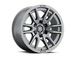ICON Alloys Vector 6 Titanium 6-Lug Wheel; 17x8.5; 0mm Offset (05-15 Tacoma)