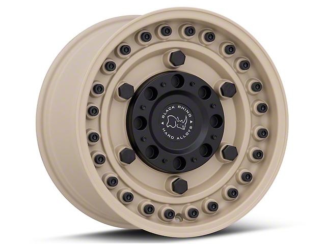 Black Rhino Armory Desert Sand 6-Lug Wheel; 17x9.5; -18mm Offset (16-20 Tacoma)