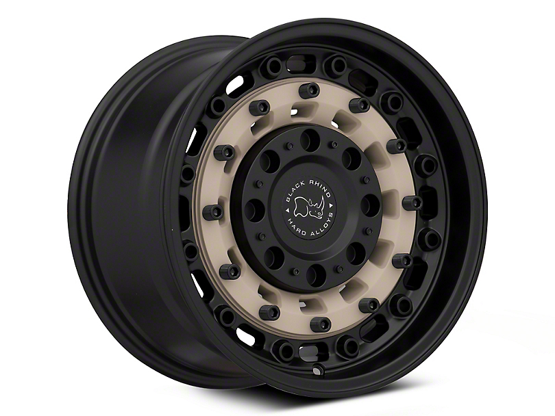 Black Rhino Arsenal Sand on Black 6-Lug Wheel; 17x9.5; -18mm Offset (16-20 Tacoma)