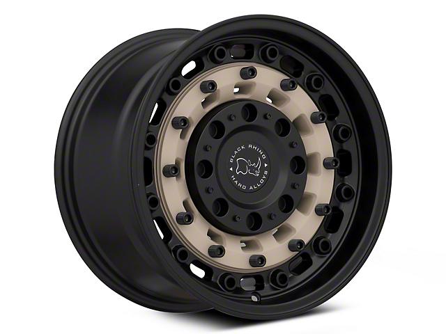 Black Rhino Arsenal Sand on Black 6-Lug Wheel; 17x9.5; -18mm Offset (16-21 Tacoma)